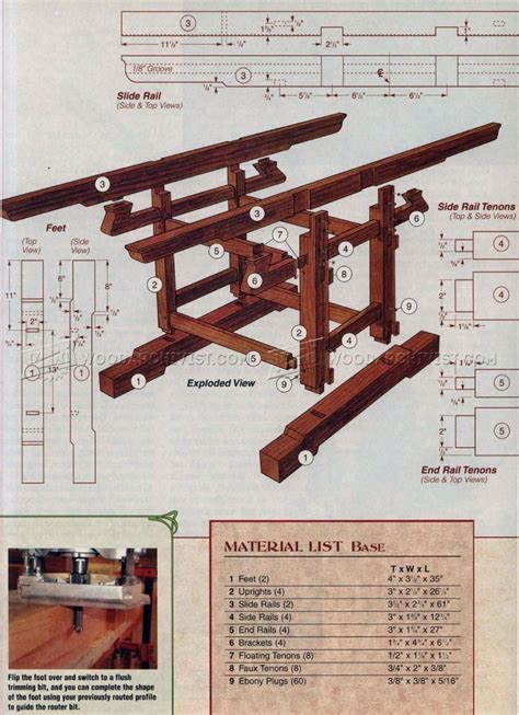 Extendable Dining Table Plans ? WoodArchivist