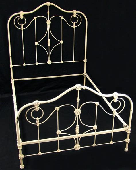 antique cast iron bed full bedroom furniture headboard