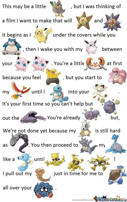 Pokemon Poems By Pancakejesus Meme Center