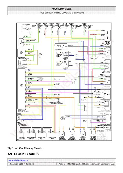 bmw 328is 1996 wiring diagrams sch service manual schematics eeprom repair info for