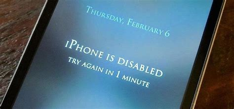 what does iphone disabled iphone ipod disabled after entering wrong passcode