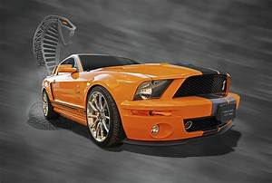 Cobra Power - Shelby Gt500 Mustang Photograph by Gill Billington
