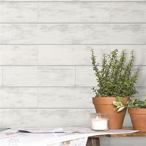 Shiplap Wallpaper by Joanna Gaines Shiplap Wallpaper From Magnolia Home By York