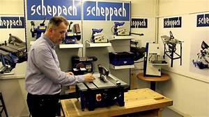Scheppach Hs80 210mm Table Saw