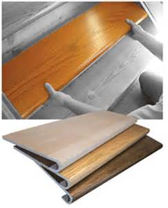 How To Cover Carpet With Wood by Stair Tread And Riser Covers How To Find The Best Stair