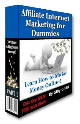 marketing for dummies affiliate marketing affiliate marketing for dummies