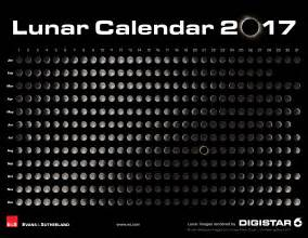 Lunar Moon Calendar 2017