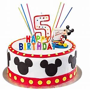 Mickey Mouse Birthday Cake Png | www.pixshark.com - Images ...