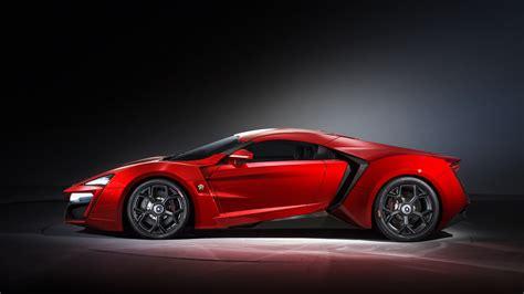 car, Super Car, Lykan hypersport, Red cars, Side view ...