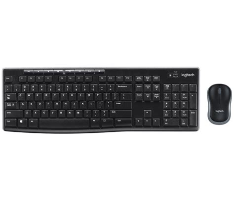 logitech mk270 wireless keyboard and mouse combo with