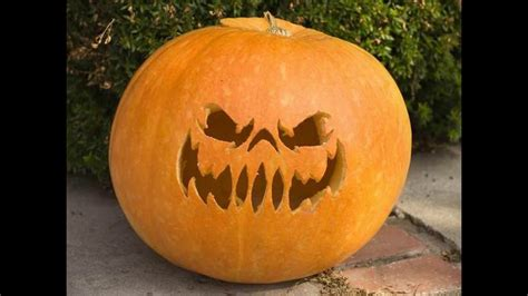 10 Funny Scary and Easy Pumpkin Carving Ideas - YouTube