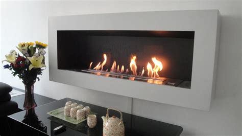 Wall Mounted Bio Ethanol Fireplaces, A New, Sustainable