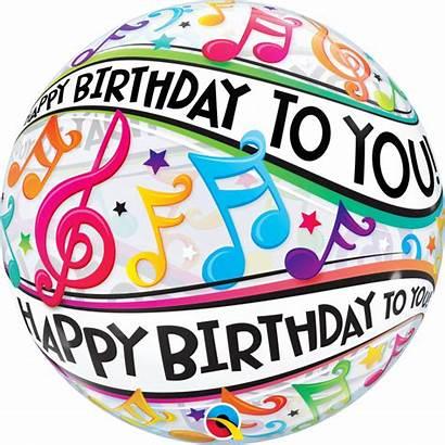 Birthday Happy Notes Balloon Bubble Musical Balloons