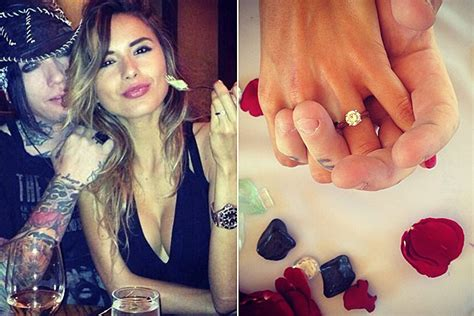 guns  roses guitarist dj ashba  engaged