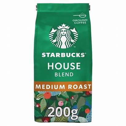 Coffee Starbucks Ground Blend 200g Roast Morrisons