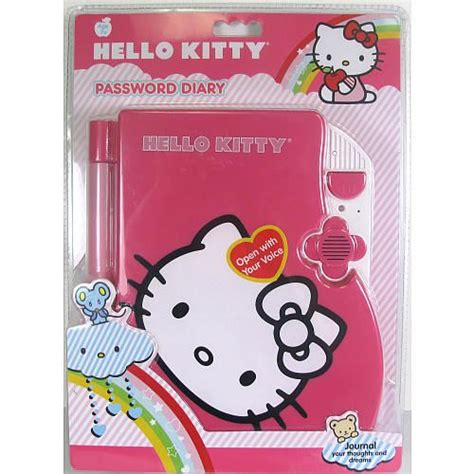 hello kitty password diary holder toys toys r us and