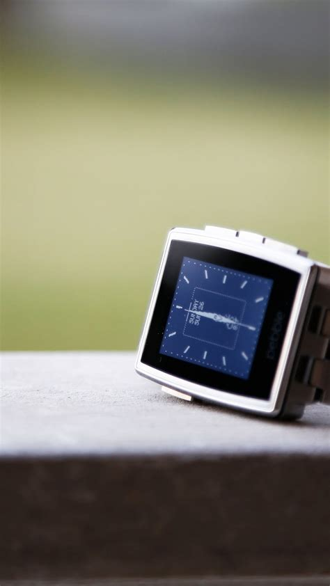 wallpaper pebble steel smartwatch limited edition