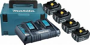 Makita Akku Poliermaschine : makita akku set power source kit 4 akkus 18 v 5 ah ~ Kayakingforconservation.com Haus und Dekorationen