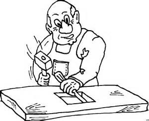tischler ausmalbild malvorlage comics