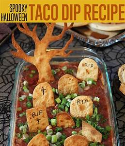 How To Make Spooky Halloween Taco Dip Halloween Recipe