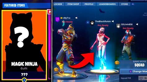 fortnite leaked skins new magic skin footage leaked in fortnite