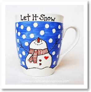 Easy Homemade Gift Ideas Painted Coffee Mug