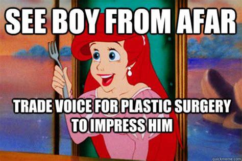Little Mermaid Memes - 20 funny exles of cartoon logic smosh