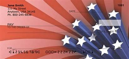 Checks Personal Patriotic Flag American Artistic Stripes