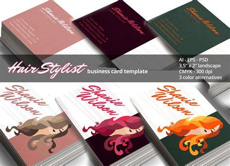 Hair Stylist Business Card  Business Card Templates