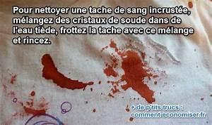 Nettoyer Canalisation Avec Cristaux De Soude : l 39 astuce qui marche pour enlever une tache de sang incrust e ~ Melissatoandfro.com Idées de Décoration