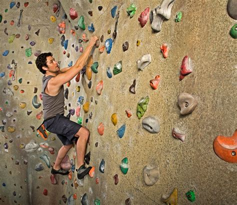Ask Men Fitness Indoor Rock Climbing Good Workout