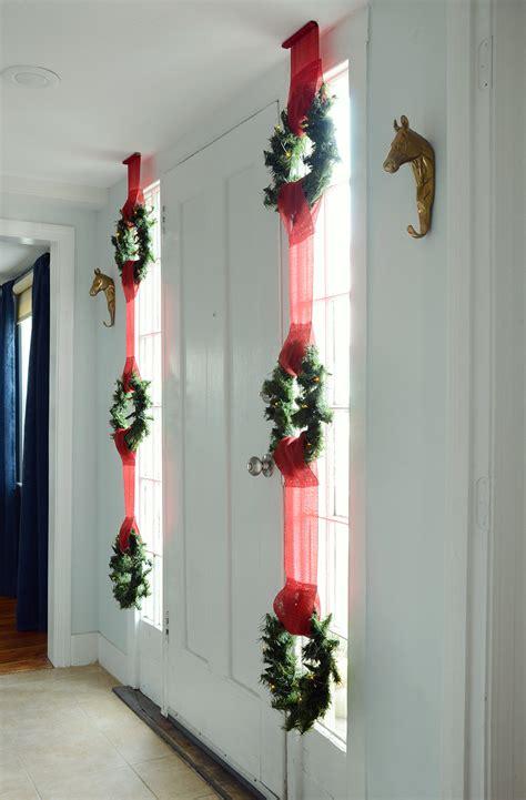 easy christmas window displays easy christmas wreath window display design fixation