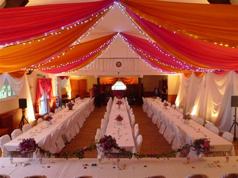 Ceiling Drapes For Weddings by Wedding Decorators Uk Decoration