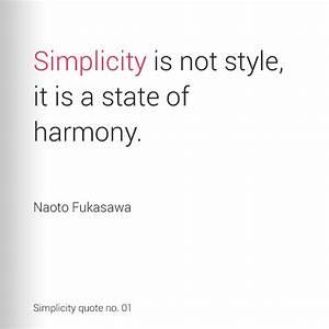 17 best SIMPLIC... Simplicity Minimalist Quotes