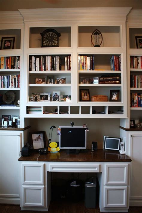 Office Desk With Bookcase by Custom Made Built In Desk Bookcases By Custom Cabinets