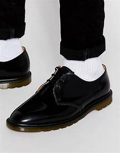 Dr martens Made In England Archie Shoes in Black for Men Lyst