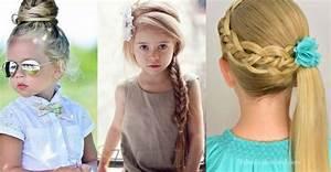 Coiffure Facile Pour Petite Fille : petite fille 5ans coiffure simple et facile ~ Nature-et-papiers.com Idées de Décoration