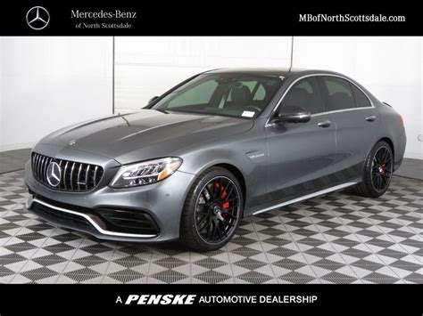 Ranked at #7 in our compact sedan of new cars. New 2020 Mercedes-Benz C-Class AMG® C 63 S Sedan Sedan in Phoenix #S05488 | Mercedes-Benz of ...