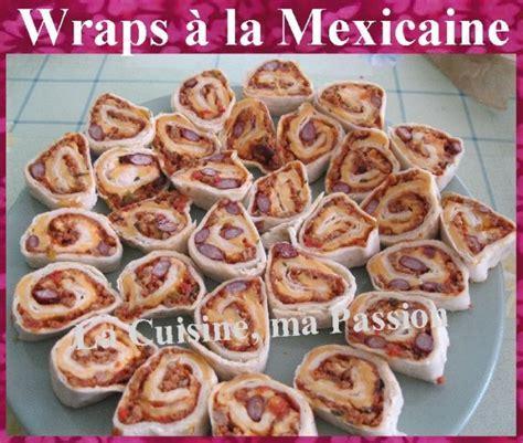 hachoir cuisine wraps à la mexicaine pour l 39 apéro la cuisine ma