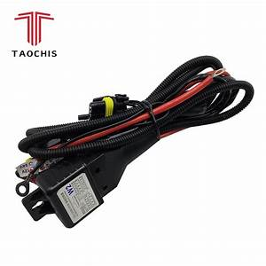 Taochis 12v 35w 55w H4 Wiring Harness Controller Relay