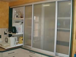 Küchenschrank Mit Schiebetüren : einbauk chen angepasst an ihre r ume nischen dachschr gen mit ausz gen bis zu 1 m tiefe von ~ Sanjose-hotels-ca.com Haus und Dekorationen