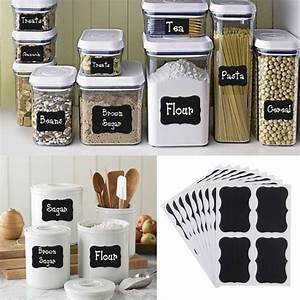 36pcs chalkboard blackboard chalk board stickers decals With kitchen cabinets lowes with blackboard stickers for jars