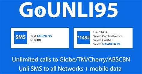 95 Pesos Globe Promo With Unli Call, All Net