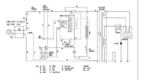 solucionado necesito diagrama de microondas daewoo kor 146hs yoreparo