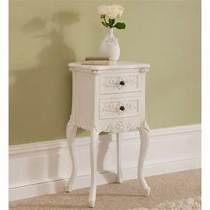 Meuble Shabby Chic : beautiful rococo shabby chic antique style bedside table with shabby ~ Preciouscoupons.com Idées de Décoration