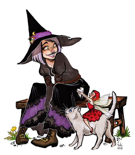 picture witch witch and fairy by fukari on deviantart