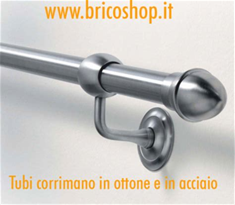 Corrimano In Ottone by Corrimano Scale Tubi E Supporti Passamano Brico Shop Fai