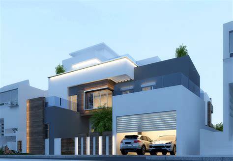 modern villa  dubai  behance