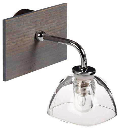 applique pour cuisine willwood applique pour salle de bain 1 lumière bois verre
