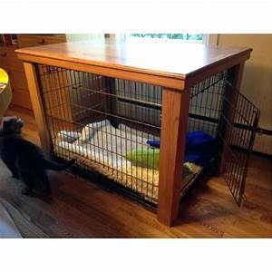 beautiful and super original wooden dog crate matt and With dog crate entry table